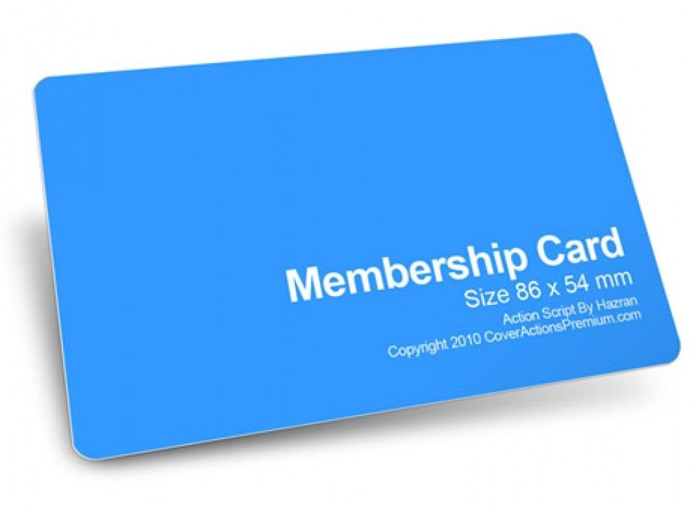 Amazing Membership Card Template NAY3Y6 – Dayanayfreddy