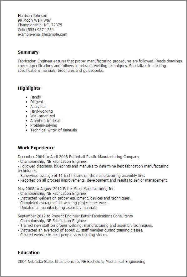 20+ [ Maintenance Manager Resume Sample ] | Steve James Resume ...