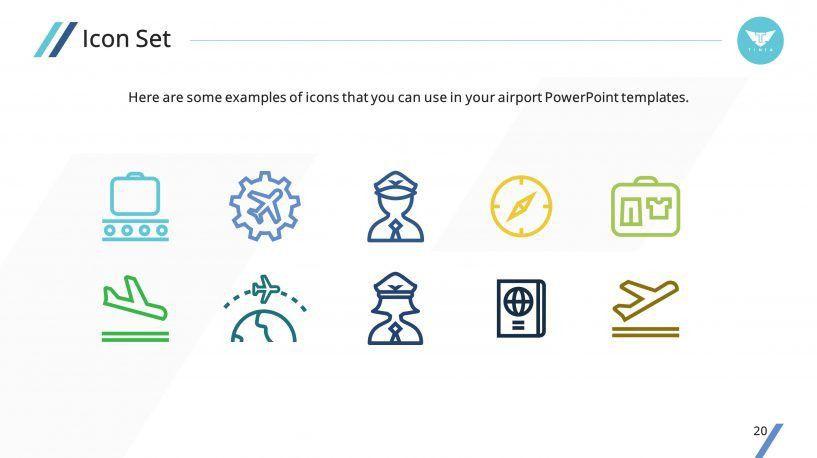 Clean Airplane Premium PowerPoint Template – SlideStore