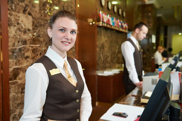 Hotel Front Desk & Reception Uniforms| Uniform Nations