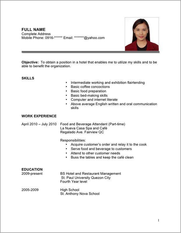 Prepare Your Resume or Portfolio - Job Search and Interview Skills ...
