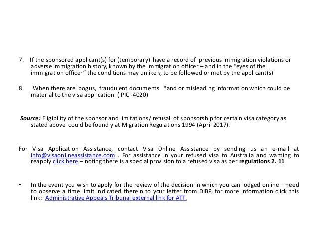 Tips For Visa Sponsorship Application For Family In Australia May Refu2026