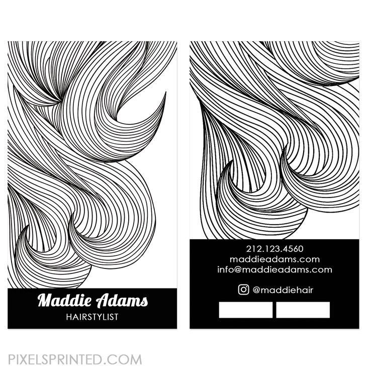Best 25+ Hairstylist business cards ideas on Pinterest | Makeup ...
