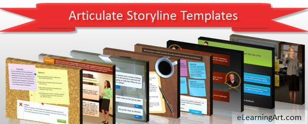 Articulate StoryLine Templates – eLearningArt