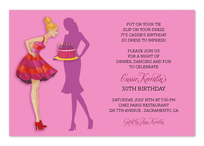 Birthday Invitation Wording Template | Birthday Invitations