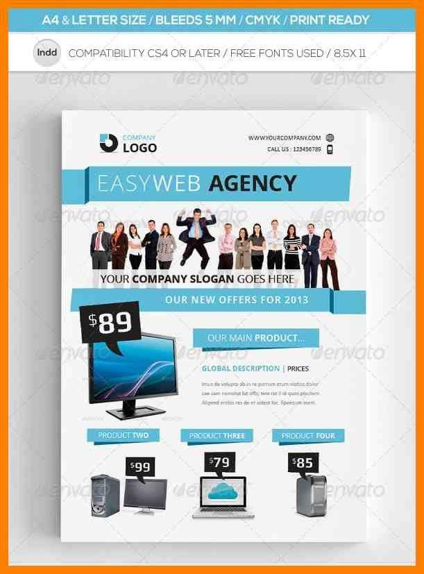 E Flyer Template - Contegri.com