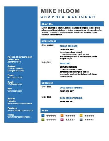 49 Creative Resume Templates [Unique Non-Traditional Designs]