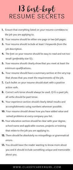 How to Make Your Resume Stand Out (by Breaking a Few Rules) | Career