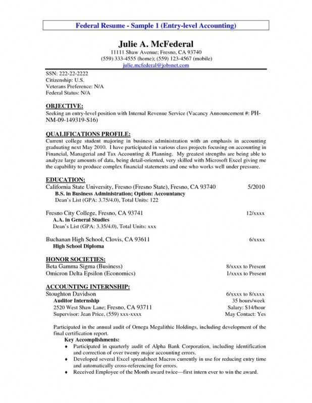 Top Objectives For Resume – Resume Examples