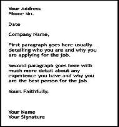 how to write an application letter holiday student cover letter ...