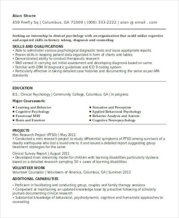 28+ [ Curriculum Vitae Psychology ] | Lisa Yamagata Lynch Cv May ...