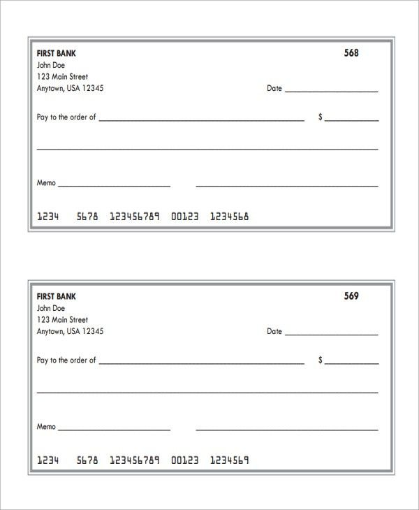 Sample Deposit Slip Template - 8+ Free Documents Download in PDF ...