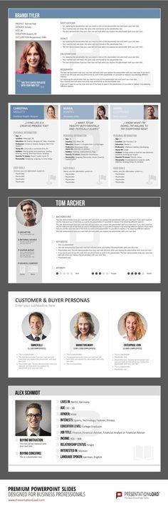 Persona Example that I like | UX Stuff | Pinterest | Ux design ...