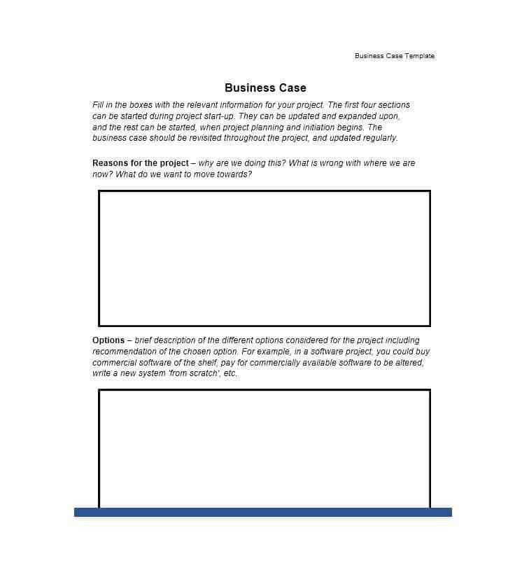 30+ Simple Business Case Templates & Examples - Template Lab