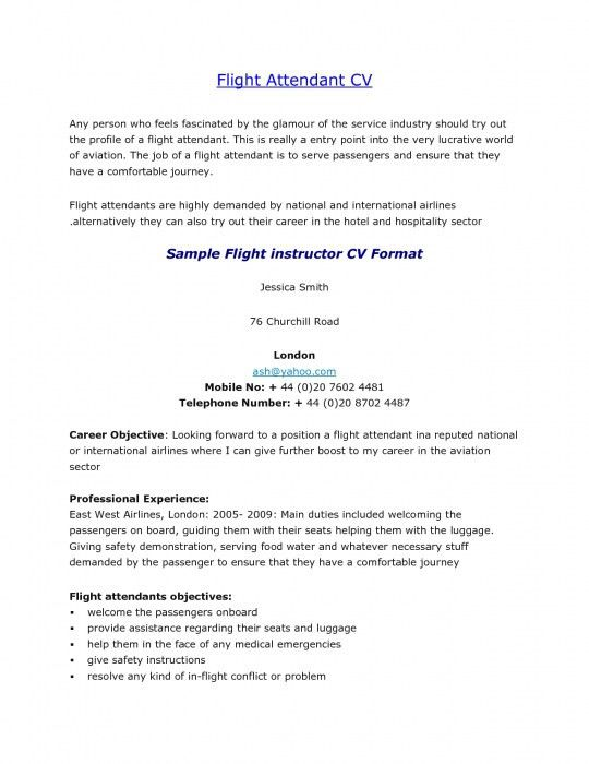 flight attendant resume sample flight attendant resume sample