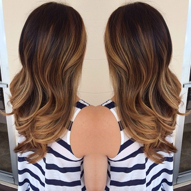 1000 ideas about brown sombre on pinterest brown sombre hair sombre hair and balayage - Ombre hair brune ...
