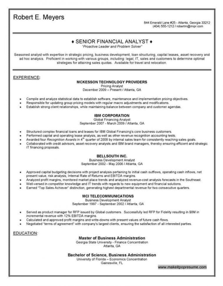 Financial Planner Resume Objective Examples. click here to ...