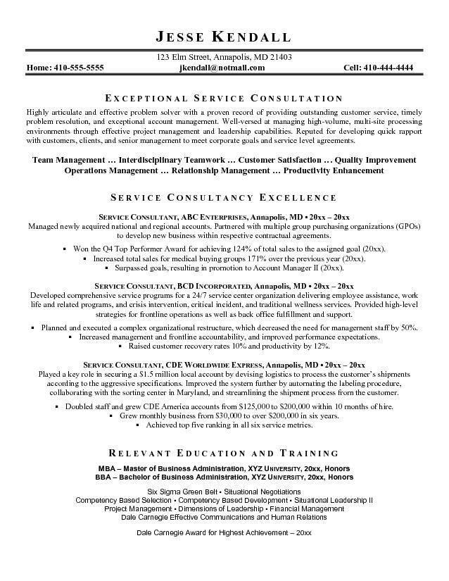 Consultant Resume | berathen.Com