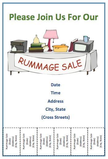 For Sale Flyer with Tear Off – Free Template Downloads
