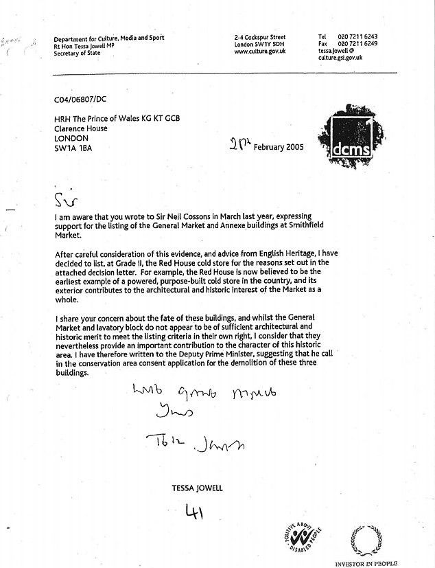 Prince Charles wrote to Tony Blair in 'black spider' letters ...