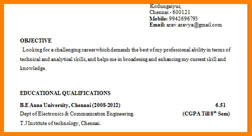 9+ curriculum vitae format for engineering students - mail clerked