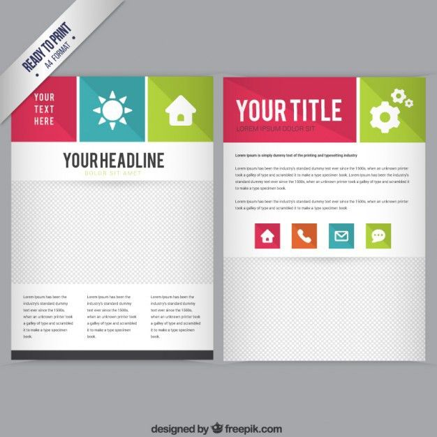 Booklet template free download booklet template vector free booklet template vector free download pronofoot35fo Choice Image