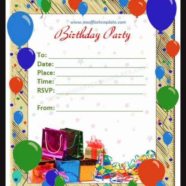 How To Make Invitations On Word - cv01.billybullock.us