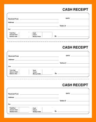 9+ free printable rent receipts | packaging clerks
