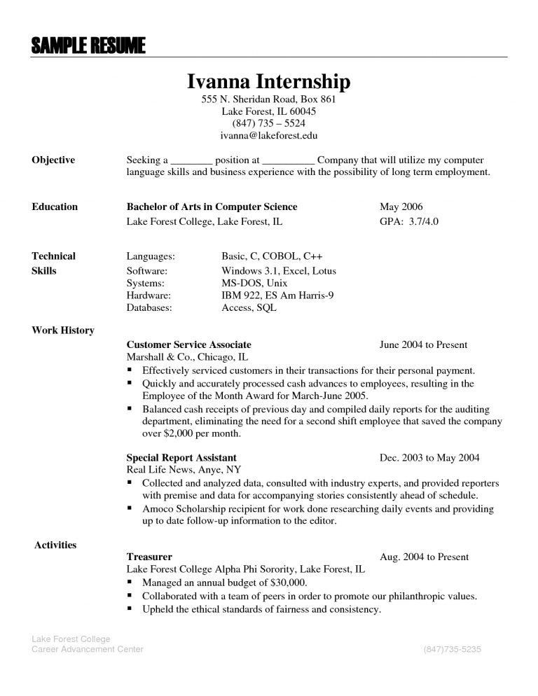 Sensational Design Resume Language Skills 2 Section In - CV Resume ...