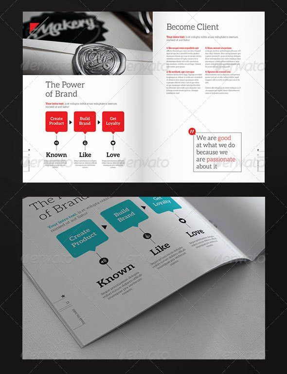 30 Awesome Company Profile Design Templates | Web & Graphic Design ...