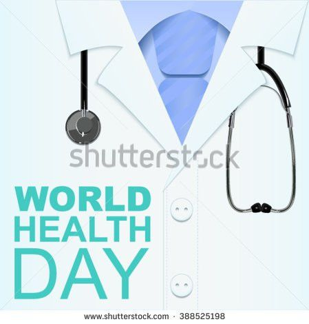 7 April World Health Day Text Stock Vector 388525198 - Shutterstock