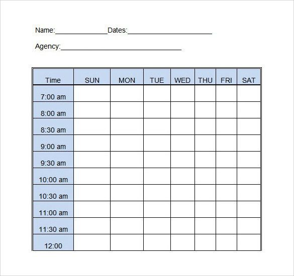 Daily Log Template Word. Daily Food Diary And Log Template ...