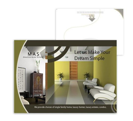 Commercial real estate flyer templates