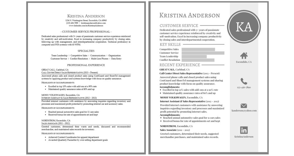Introducing Graphic Resumes That Make You Stand Out