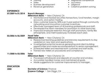 automotive finance manager resume sample manager resume example