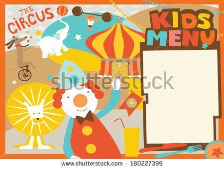 Kids Menu Template - Download Free Vector Art, Stock Graphics & Images