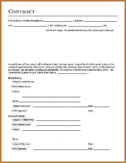 Nanny Contract Template. Sample Nanny Contract Pdf Sample Nanny ...