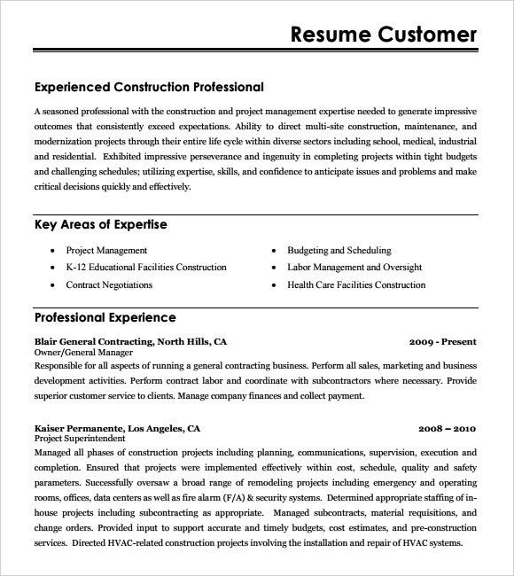 construction estimator resumes free construction estimator resume