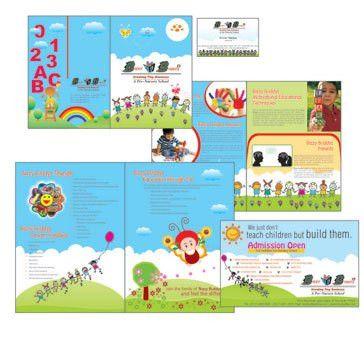 Play School Brochure Design - Noida, New Delhi, Product Literature ...