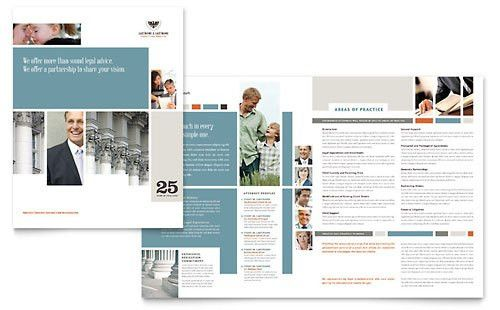 Legal Services Marketing - Brochures, Flyers, Datasheets