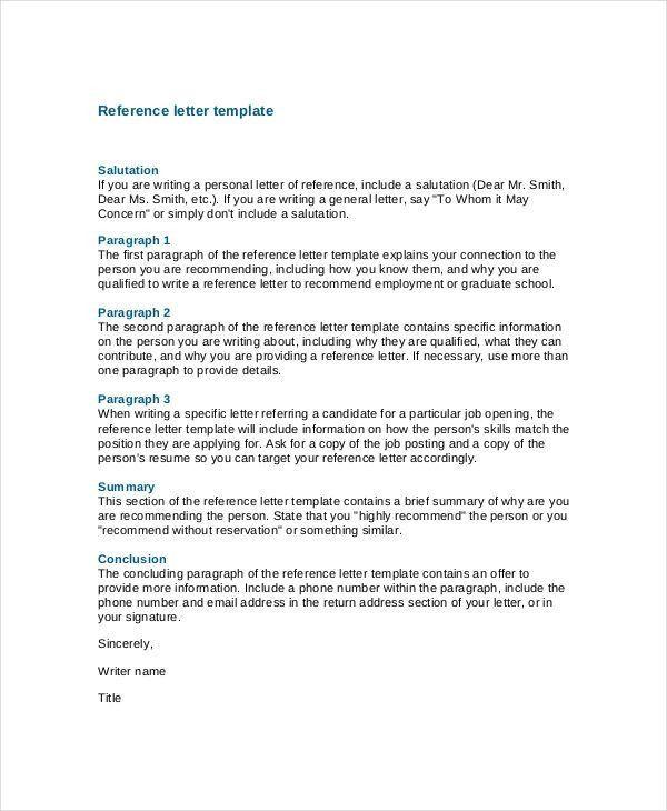 Sample Coworker Recommendation Letter. Babysitter Reference Letter ...
