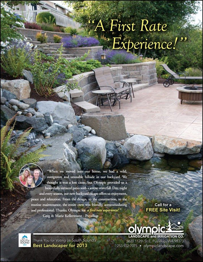 Olympic Landscape & Irrigation - landscape design & construction ...