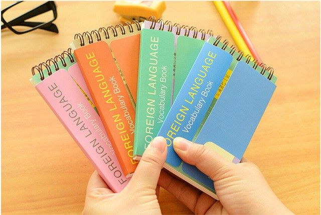 Aliexpress.com : Buy English blank word cards portable small ...