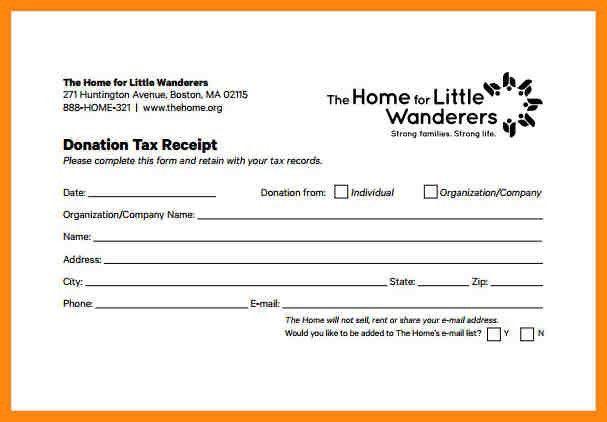 8+ donation receipt template | nurse resumed
