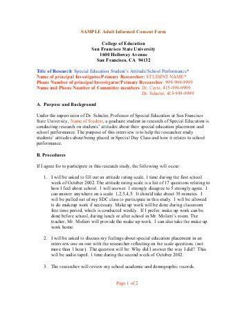 Psychology Consent Form. 10 Free Sample Travel Consent Form ...