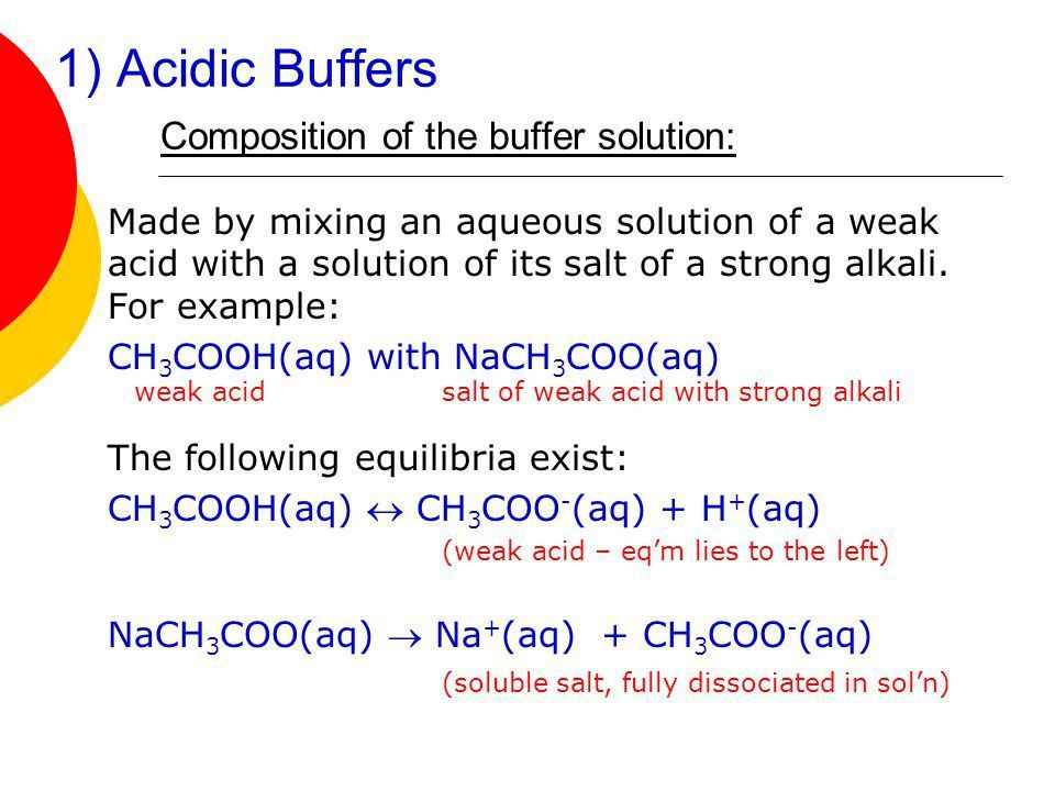 PART 4: Salt Hydrolysis and Buffer Solutions - ppt video online ...
