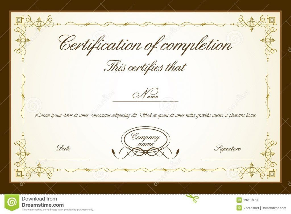Free Graduation Certificate Template Awards Certificates Templates ...