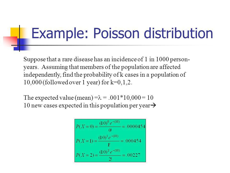 Examples of discrete probability distributions: - ppt video online ...