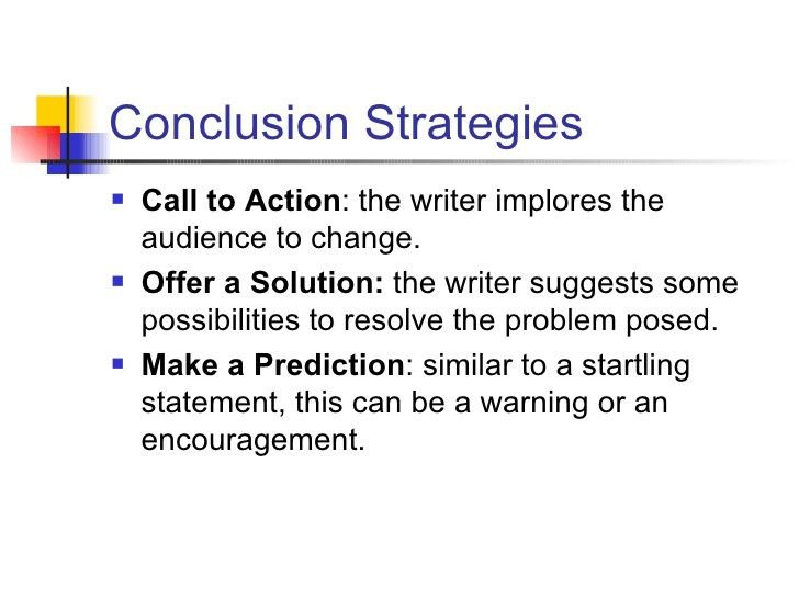 Persuasive Essay Conclusions -- OSPI