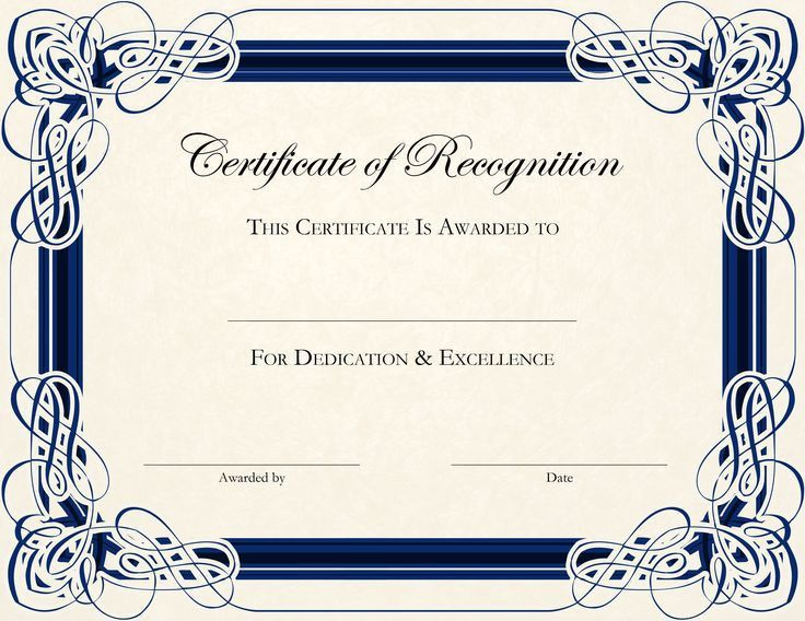 Sample Certificates For Kids. Good-Behavior-Printable-Certificate ...